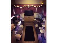 Swift Azzura fixed bed caravan 5 berth