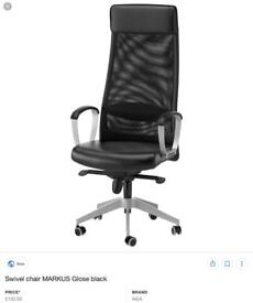 Ikea office/computer chair in new condition