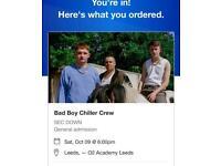 Bad boy chiller crew tickets