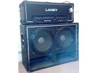 "Laney 100 Watt"" Linebacker"" Bass/Guitar Amp and 2 X 12"" speaker Combo."