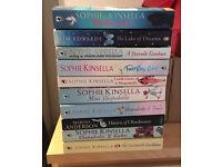 Selection of Books - Sophie Kinsella, Marina Anderson & Kim Edwards
