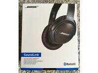 Bose Wirless Soundlink ii 2 headphones