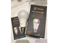 NEW Hive Active Colour Light – 9.5W Colour Changing- E27 Screw.