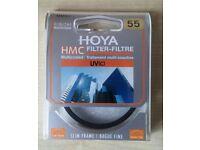 HOYA Digital HMC UV Lens Filter 55mm NEW Sealed