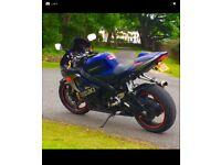 Suzuki Gsxr750 11500miles FSH 1 Years MOT K5 06 Quickshift Uprated exhaust