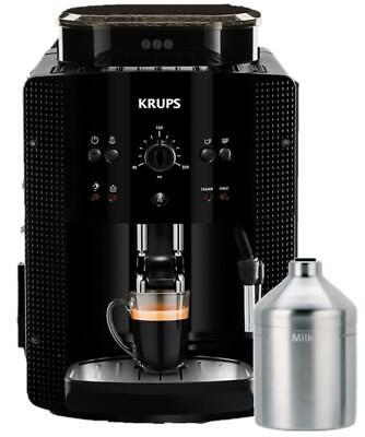 Krups Kaffeevollautomat EA81M8 Kaffeemaschine inkl. Edelstahl-Milchbehälter - Edelstahl-milch-behälter