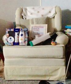 Rocking Chair / Sofa Seat Cream