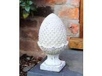 Decorative Stone Acorn Garden Ornament