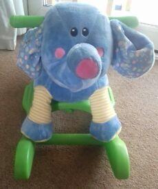 Rocking musical elephant