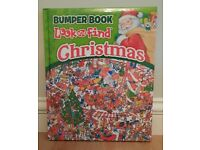 Kids Christmas Bumper Book Look and Find Fun