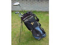 Callaway Stand bag and Various clubs.