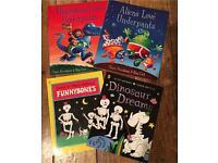 Aliens love underpants, Dinosaurs love underpants, Funny Bones & Dinosaur Dreams books