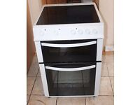 6 MONTHS WARRANTY Logik AA energy rated, 60cm wide electric cooker FREE DELIVERY