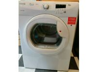 8kg hoover condensor tymble dryer. £90 ono can deliver.