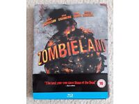 Zombieland Steelbook Blu Ray DVD - excellent condition