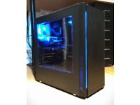 Custom Built PC Intel Xeon X5460 3.16 Ghz, 8GB RAM, HD 5770 1GB, Brand New Case