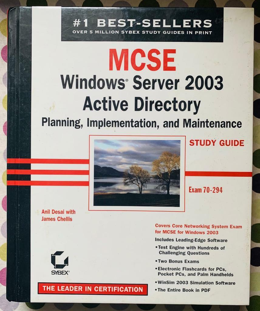 MCSE - Windows Server 2003 Active Directory £1 | in Reading, Berkshire |  Gumtree