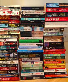69 various Paper Back Books