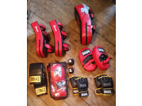 Boxing/MMA gloves and pads