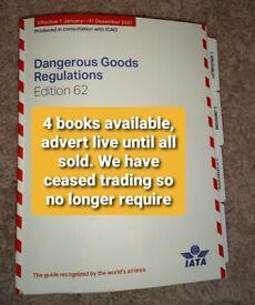 Dangerous Goods Regulations 62nd edition