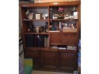 Great quality, solid wood cabinet. Collection only.