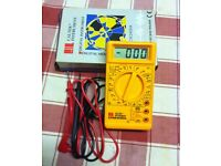 CM2400A DIGITAL MULTIMETER WITH HFE TEST ( NEW ) - bargain