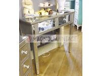 Brand new Venetian Silver Dressing Table or Console Table