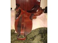 AUSTRALIAN STOCK SADDLE by the Down Under saddle makers