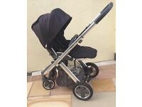 Babystyle Oyster Plush Pushchair & Carrycot