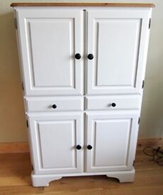 Shabby Chic Look Ducal Solid Pine Tallboy.