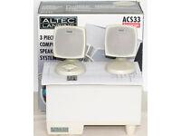 ALTEC LANSING ACS33 COMPUTER SPEAKERS
