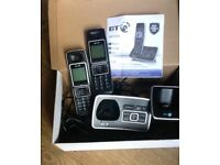 BT TWIN 6500, 2 DIGITAL CORDLESS PHONES WITH ANSWERING MACHINE, BLOCK NUISANCE CALLS !!!!!!!!!!!!!!!