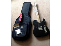 Fender Limited Edition Telecaster mint condition with Fender accessories