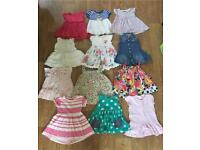 Baby girls dresses 3-6months