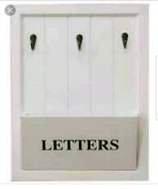 Wall mountable letters/key holder, brand new