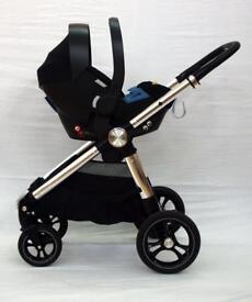 Mamas and papas ocarro full travel system black