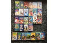 Mix of 29 Children's VHS Tapes - Mainly Disney