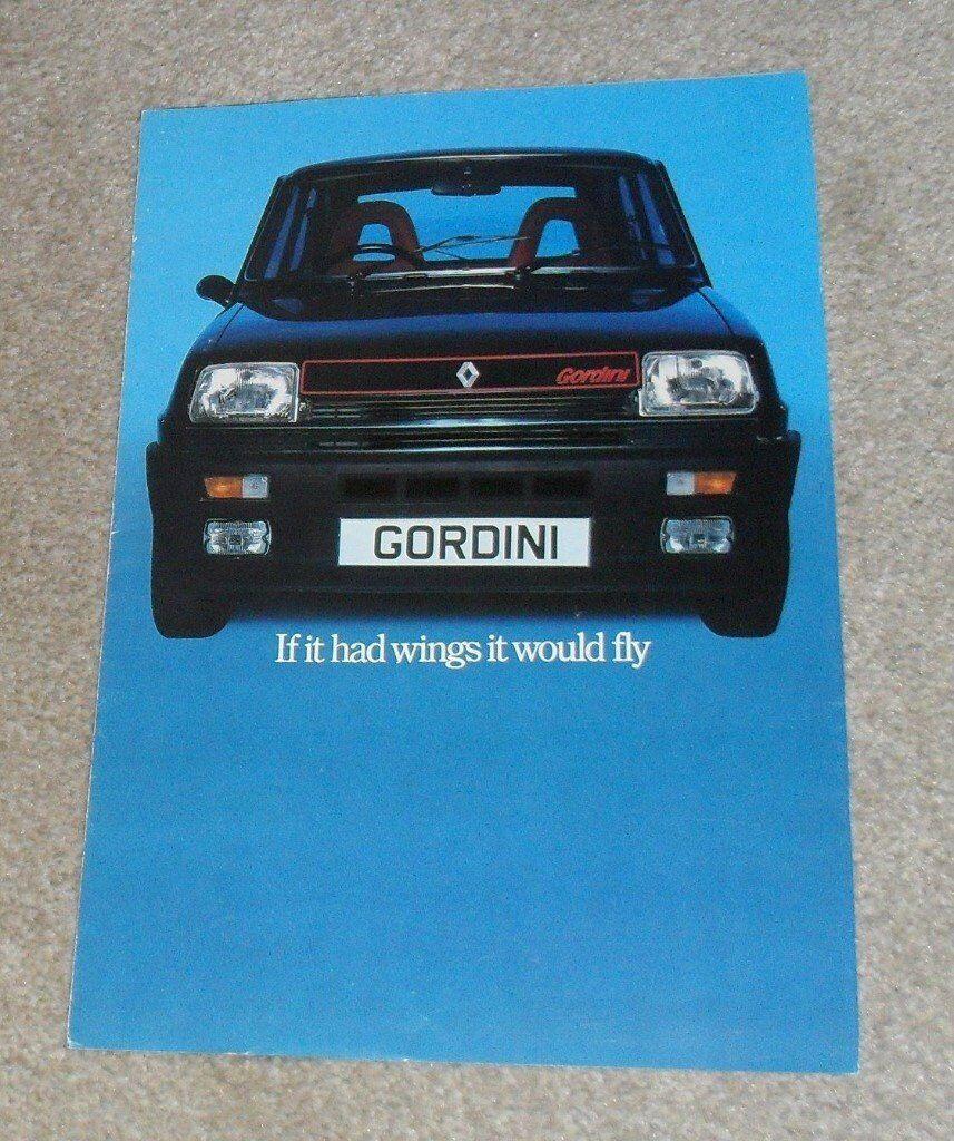 Renault 5 Gordini Wanted 1970/80s