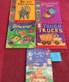 Set of 5 Children's Story Books, DVD & CD Set 2