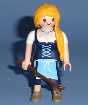Playmobil Country / Bavarian Woman Girl Lady Female Figure - Farm Victorian NEW