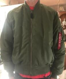 Genuine Alpha Industries MA-1 flight jacket