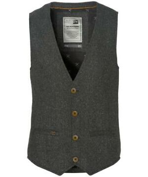No Excess Gilet - Modern Fit - Grijs - 50