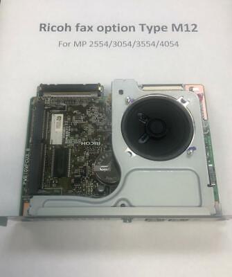 Ricoh Fax Option Type M12 Mp 2554 3054 3554 4054 Excellent Condition