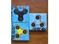 3 Brand new finger spinners