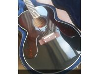 Gibson Custom Shop Acoustic 180 Everly. Ebony.