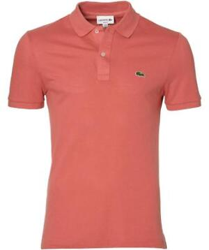 Lacoste Polo - Slim Fit - Rood - 5XL