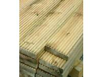 TREATED TIMBER DECKING BOARDS