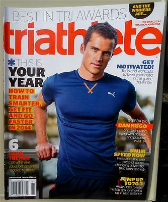 Triathlete Magazine Jan 2014   Dan Hugo   Best In Tri Awards