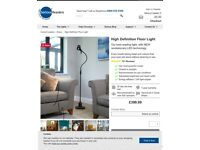 SERIOUS READERS Reading Light *RRP: £399**- High Definition Floor Lamp - EXCELLENT QUALITY