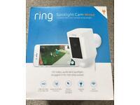 Brand New Ring Spotlight Security Camera CCTV